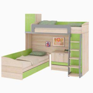 Двухъярусная кровать «Киви» №5  доставки и установка