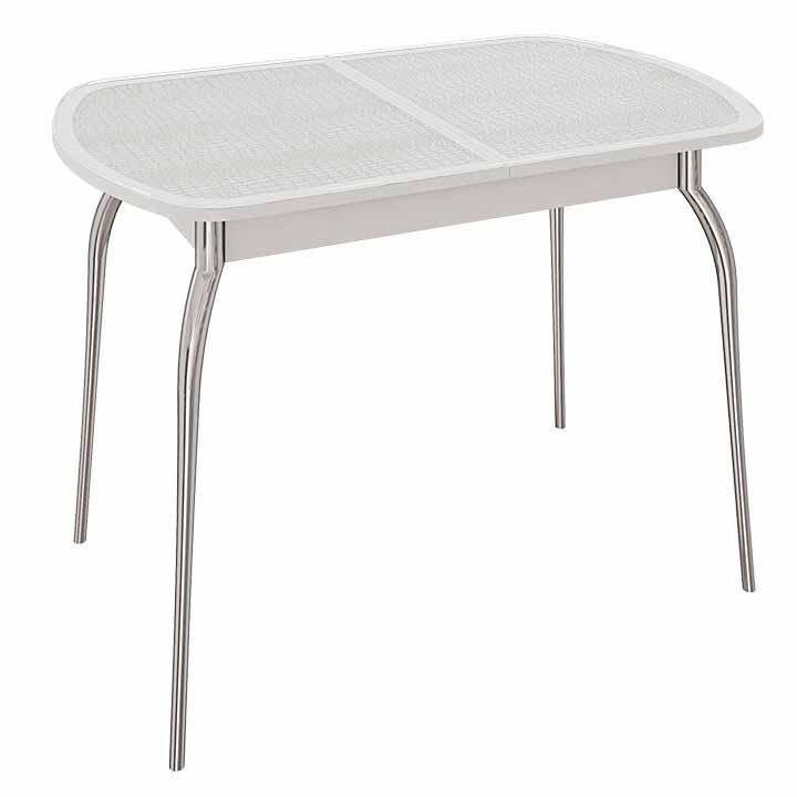 Стол обеденный раздвижной с хромированными ножками «Ницца»  доставки и установка