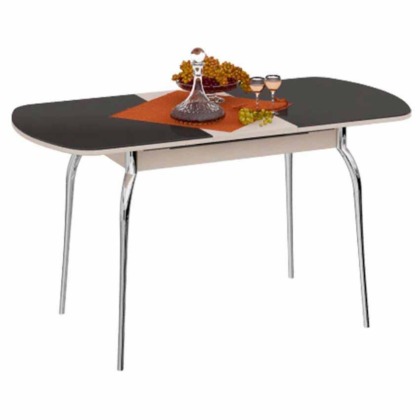 Стол обеденный раздвижной со стеклом «Милан»  доставки и установка