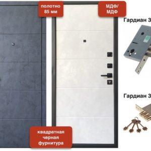 VD-50 Бетон серый/Бетон снежный